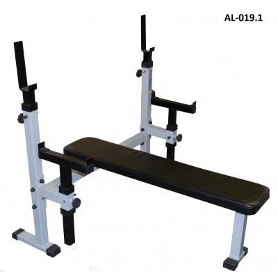 Скамья AL 019.1 для жима с ограничителем до 500 кг